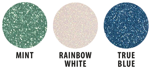 Siser Glitter White 12 X20 Sheet